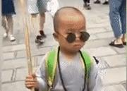 Tiểu hòa thượng 3 tuổi 'gây bão' mạng với màn múa võ ở Thiếu Lâm Tự