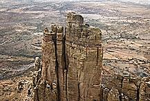 Nha tho co loi vao nguy hiem nhat the gioi o Ethiopia hinh anh