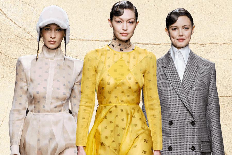 Người mẫu khóc tưởng niệm Karl Lagerfeld trong show diễn Fendi